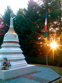 Wangapeka Study and Retreat Centre Stupa